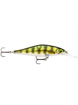 Vobler Rapala Shadow Rap Shad Deep PEL - live perch 9,0 cm