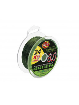 WFT KG 8.8 Green 150 m zelená rybárska pletená šnúra