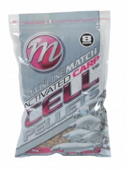MATCH ACTIVATED CARP CELL PELLETS 8 mm