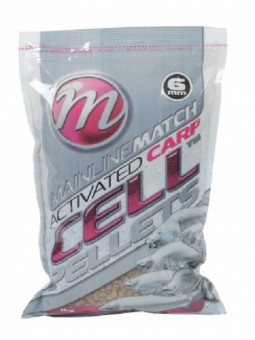 MATCH ACTIVATED CARP CELL PELLETS 6 mm