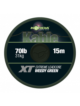 KORDA KABLE XT EXTREME LEADCORE WEED GREEN