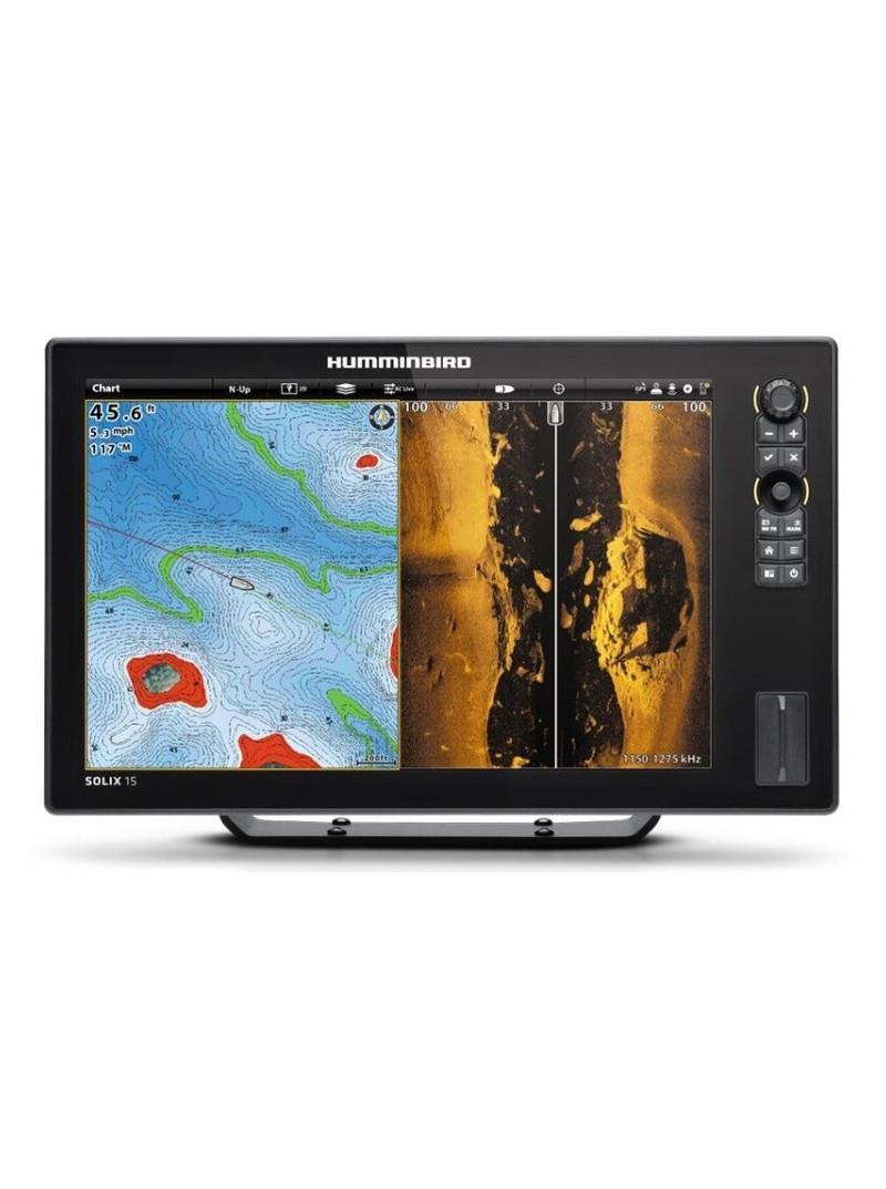 Humminbird SOLIX 15 CHIRP Mega SI GPS - sonar