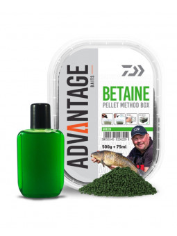 DAIWA ADVANTAGE GREEN BETAIN METHOD PELLET BOX