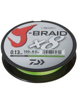 DAIWA J-Braid X8 Chartreuse pletená šnúra