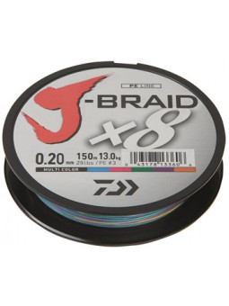 DAIWA J-BRAID X8 - MULTICOLOR