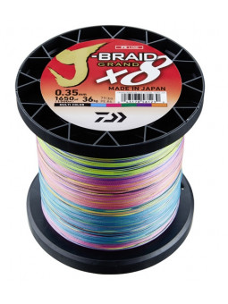 DAIWA J-BRAID GRAND X8 MULTI-COLOR